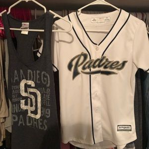 Tops - San Diego padres T-shirts